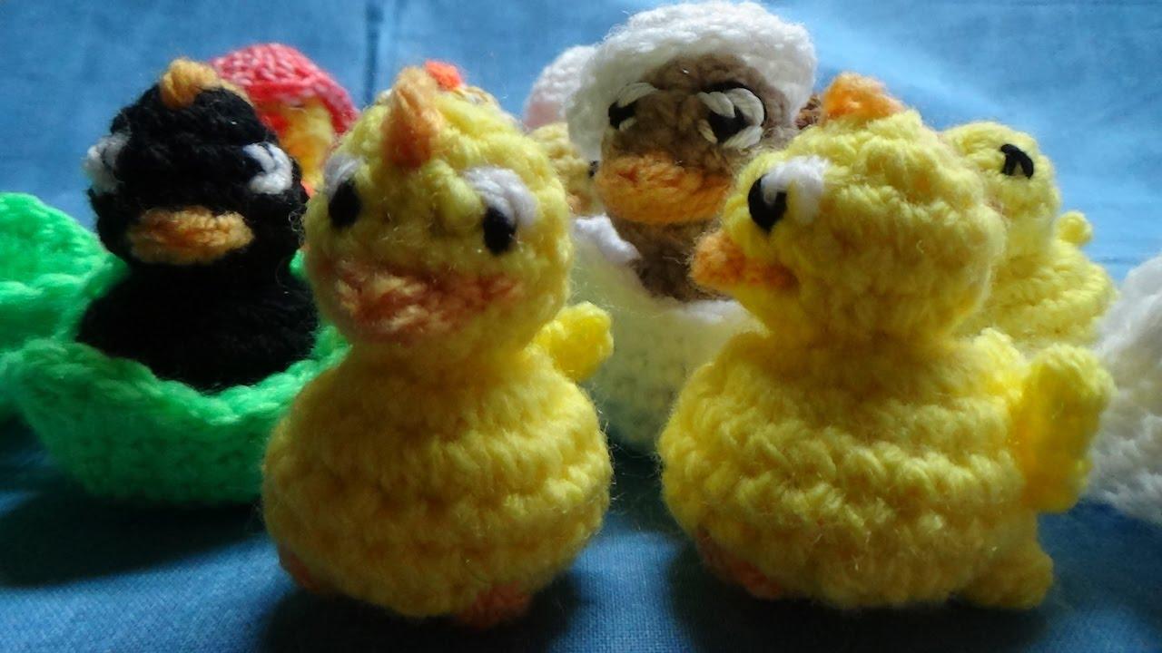 Fuseli Geschlüpftes Küken Im Ei Zum Selber Häkeln Schritt Für