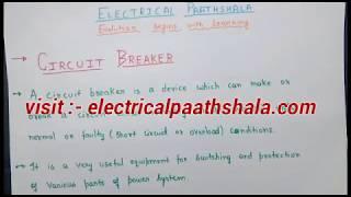 Circuit breaker in hindi