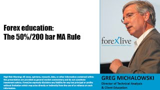 Forex Education: The 50% retracement and 200 bar MA Trading Rule