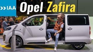 Новый Opel Zafira Life 2019