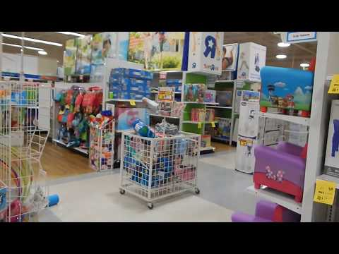 Shopping At Closing Toys R Us/Babies R Us Store W/ Reborn Baby Twins