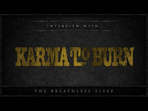 Karma to burn interview at the underworld london