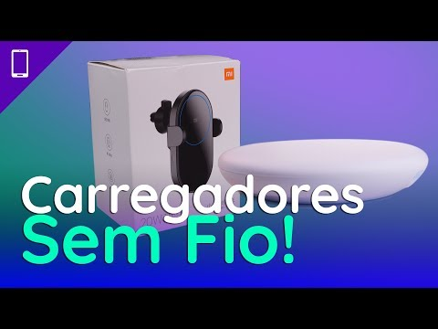 Carregadores Wireless Xiaomi De 20W Para Bancada E Carro