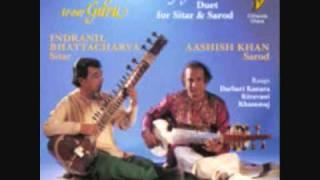 Duet Sitar & Sarod (1) Raga Darbari Kanada - I.Bhattacharya & Aashish Khan