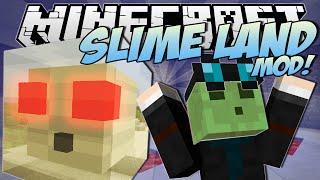 Minecraft | SLIME LAND MOD! (Slimetastic Slimes, Villages & More!) | Mod Showcase