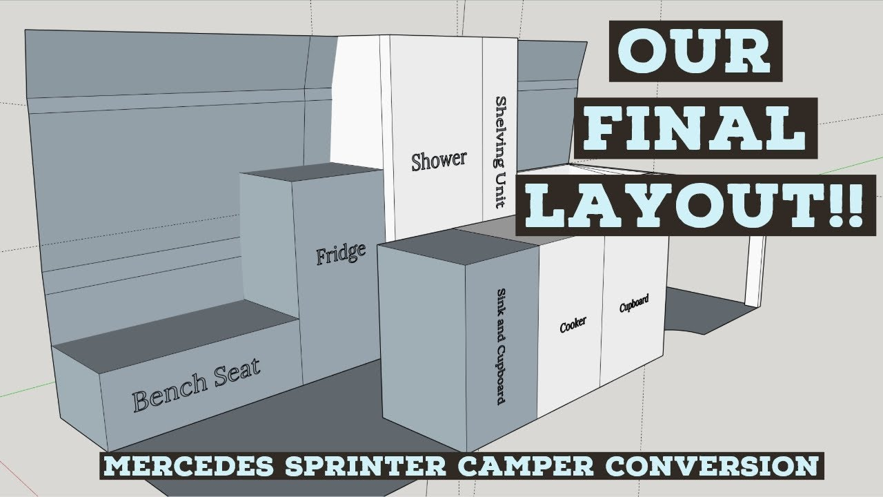 Campervan Layout Ideas - Our Final Layout