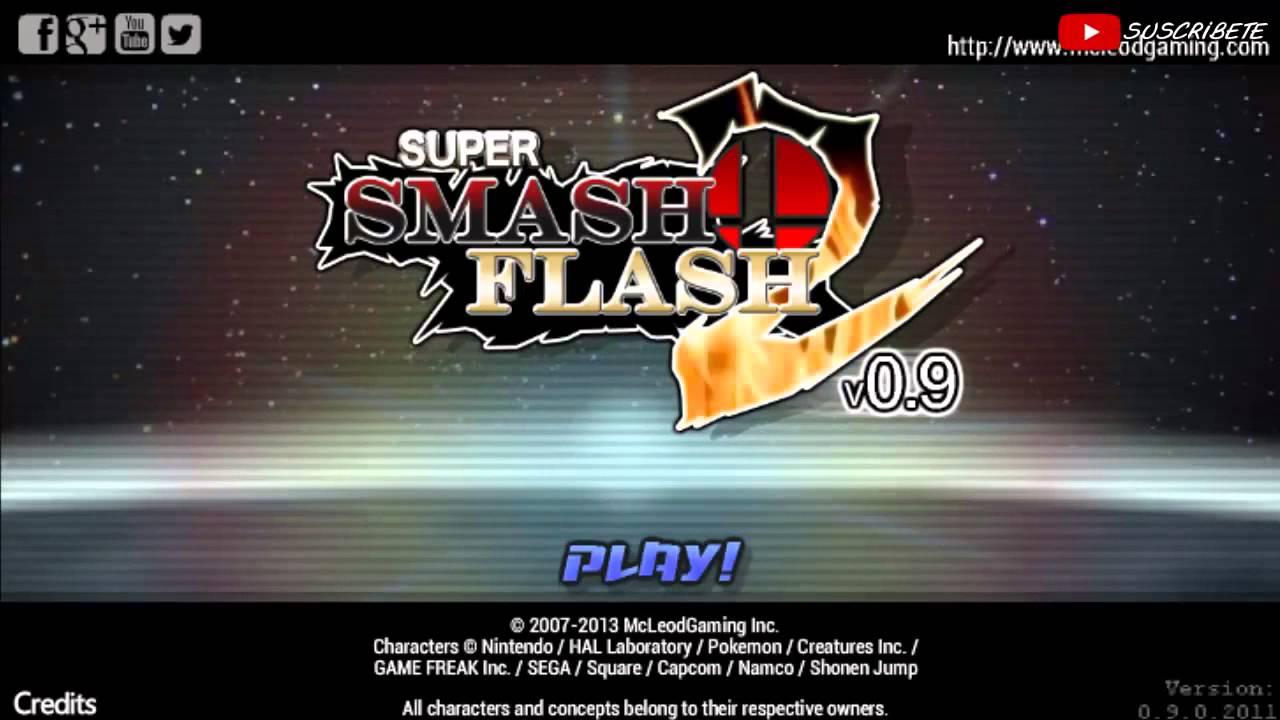 GOKU vs PIKACHU vs SONIC vs BOMBER MAN  Super Smash Flash 2