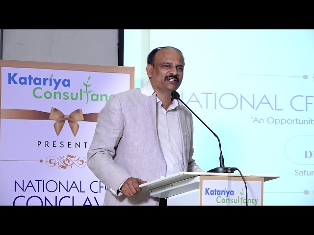 Katariya Consultancy - Talk by Venkatesh S V