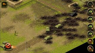 Passage of the 37th mission in a mobile strategy game World War II
