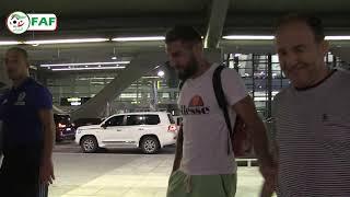 بالفيديو.. ديلور يصل إلى الدوحة ويندمج مع زملائه