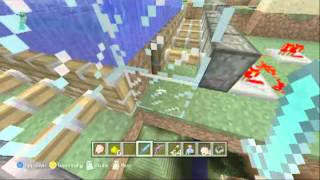 MINECRAFT XBOX 360: PVP MAP KING OF THE HILL + DOWNLOAD LINK