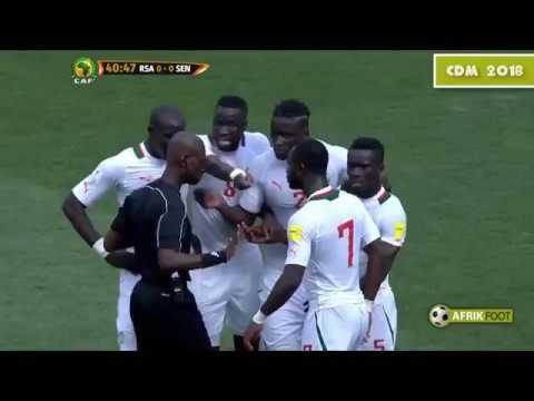 Sénégal : Le penalty surréaliste concédé face à l'Afrique du Sud - Eliminatoires CDM 2018