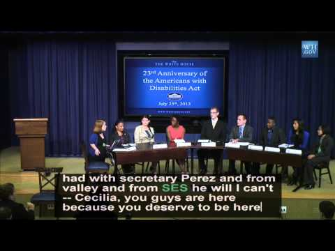 CHAMPIONS OF CHANGE: 23rd Anniversary of the Americans with Disabilities Act