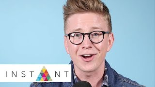 Tyler Oakley On Craziest VidCon Moment, Tips For Surviving The Weekend | VidCon 2017 | INSTANT