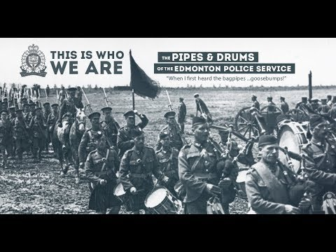 Pipes & Drums of the Edmonton Police Service   Over 55 Years