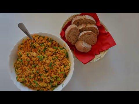 Недорогой рецепт Салат из Булгура | Кысыр (KISIR)  Вегетарианские рецепты