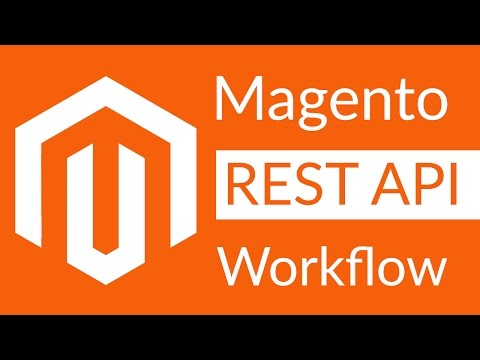 Tutorial Magento API REST integration workflow - YouTube