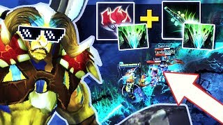 NEW IMBA 7.07 EXTREME META Elder Titan Madness + Butterfly = RAID BOSS! PRO Gameplay by Smash Dota 2