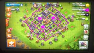 Dsl J AI DIT CLASH ROYAL MAIS C EST CLASH OF CLANS SINON VOILA UNE PETITE PARTIE DE CLASH OF CLAN