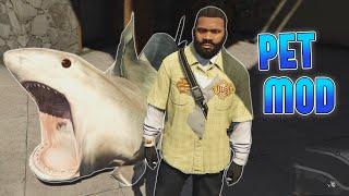 GTA 5 Mods - MY PET SHARK - (GTA V PC - Fun With Mods)