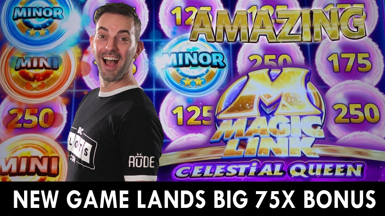🎰 HUGE 75X Bonus On The NEW Magic Link Celestial Queen 🎰