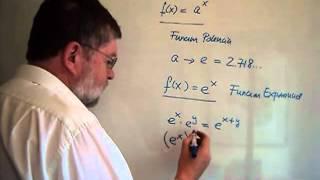 ESME010 2 Funciones 5 Exponencial y Logaritmo Natural