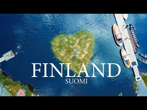 Flying Over Finland: Forests, Lakes & Islands - Suomi Ilmasta [4K]