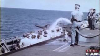 Color WWII - Raw Footage, Capture of German U-Boat U-505