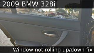 2009 BMW 328I (E90) Rear Window Replace Fix