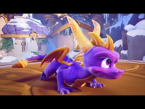 SPYRO TRILOGY REMASTERED Official Launch Trailer in true 4K (PS4, Xbox One)