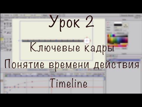 Урок 2 - Anime Studio Pro (Moho Pro): Ключевые кадры, Время действия, Таймлайн, Интерполяция