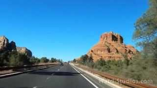 A Day in Sedona - A Video Adventure with New Age Music