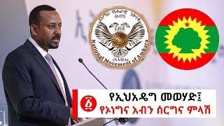 Ethiopia: የኢህአዴግ መወሃድ፤ የኦነግና አብን ሰርግና ምላሽ