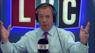 The Nigel Farage Show - Conservative Customs Union Stitch Up - Brexit - 15/08/2017