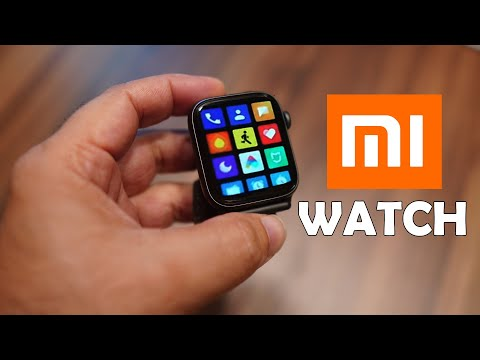 Mi Watch With Apple Watch Look And Functionality And Mi Note 10 Launching Soon