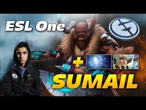 SumaiL Beastmaster Offlane - EG vs VP - ESL One Dota 2