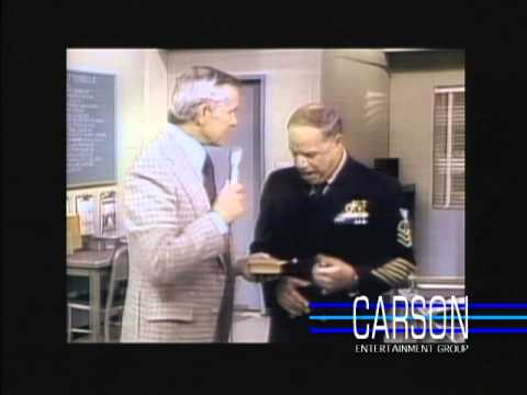 "Mad Johnny Carson Tracks Down Don Rickles on Set of ""CPO Sharkey"" on Johnny Carson's Tonight Show"