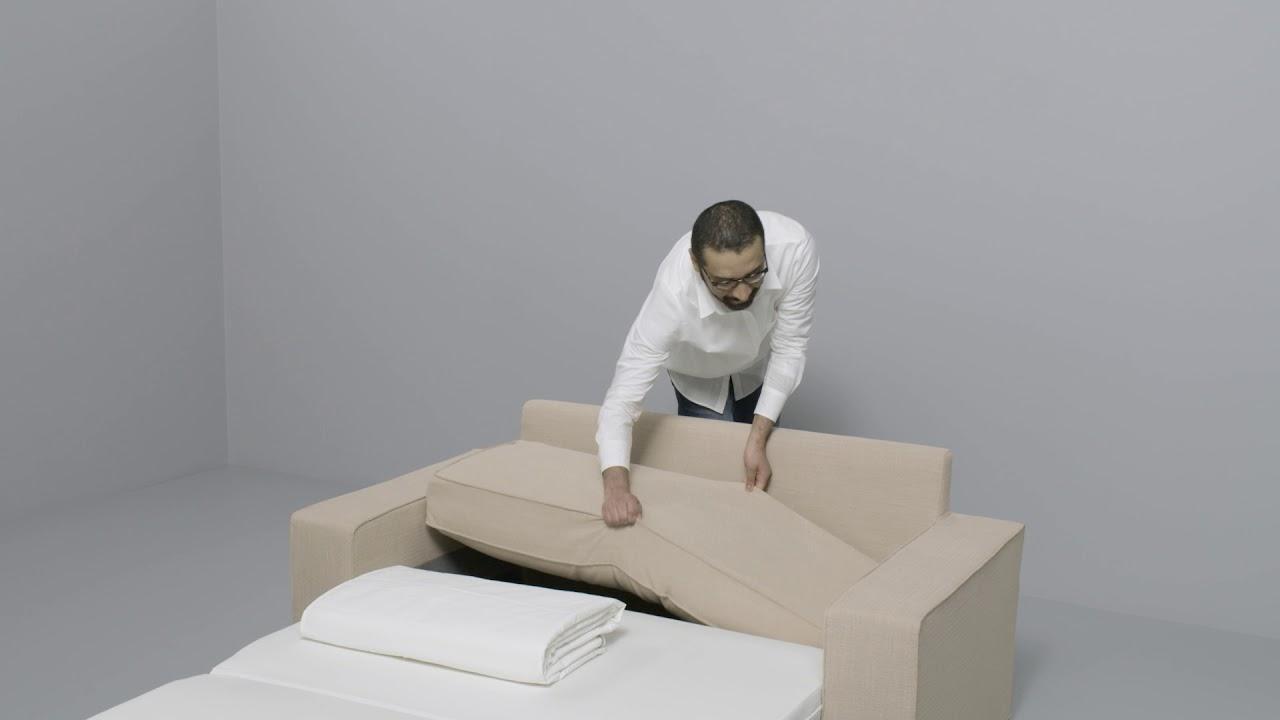 Ikea Vilasund Anleitung Vom 2 Er Sofa Zum Bett