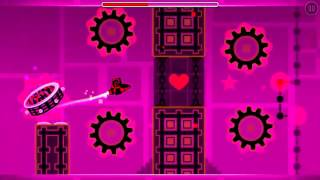 Geometry dash level name: mememe Song by: TeddyLoid Song name: Me!Me!Me!  level created by: me (r...