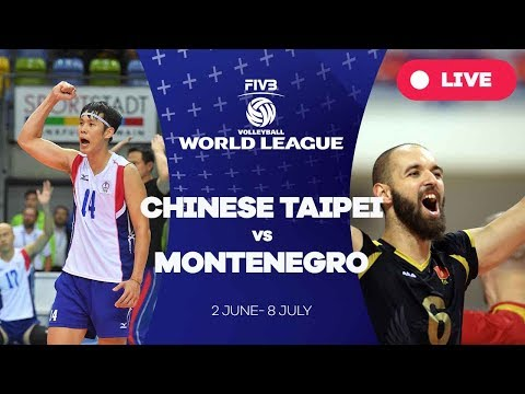 Chinese Taipei v Montenegro - Group 3: 2017 FIVB Volleyball World League