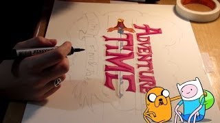 Adventure Time - Speed Drawing (Hora da Aventura)