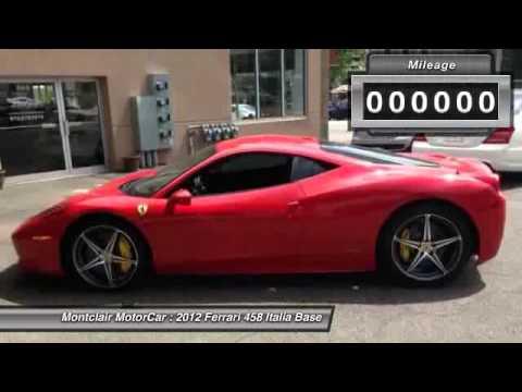 2012 Ferrari 458 Italia Base Montclair NJ 07042