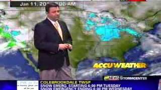 wfmz 69 news at 10 10 30pm winter weather coverage 1 11 11