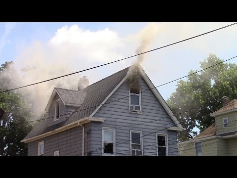 VIDEO: Lyndhurst Firefighters Contain Three-Story House Blaze