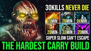 +130 Movement Slow [Lifestealer] Best Items Choice The Hardest Carry Build 30KIlls 830GPM | Dota 2