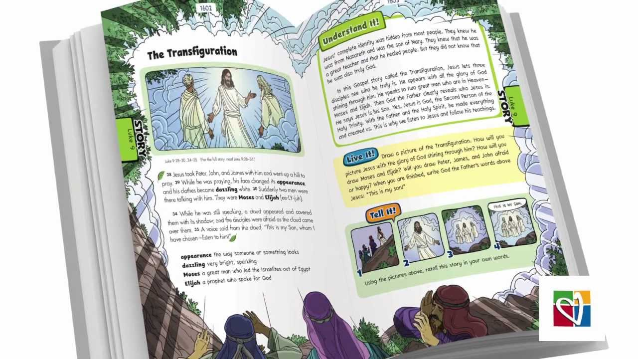 the catholic children u0027s bible youtube