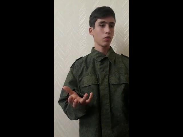 Изображение предпросмотра прочтения – МаксимДжафаров читает произведение «Армейский сапожник» А.Т.Твардовского