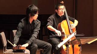 Amazing Sound Effects of String Duo - Yasunoshin MORITA