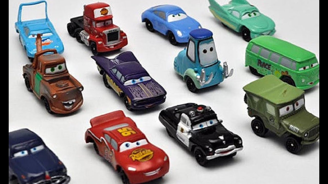 Disney lightning mcqueen mater car park garage lightning for Garage mj auto