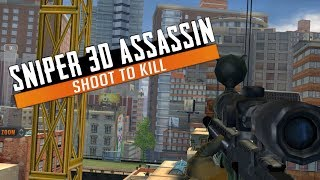 Sniper 3D ASSASSIN Gun Shooter: Free Shooting Games - FPS Gameplay Android / iOS Los Alves Missions